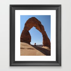 Framed - Delicate Arch Framed Art Print