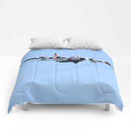 Coast Guard C130 Photography Print Comforters