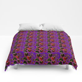 Hearts on fire Comforters