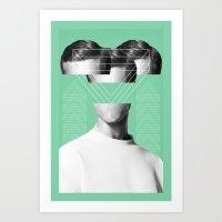 MAN #2 Art Print