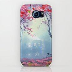 TARDIS CLOUD art painting Galaxy S7 Slim Case
