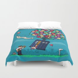 Come Along, Carl Duvet Cover