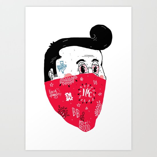 Brooklyn Bandits Art Print