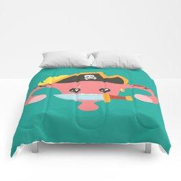 Avast, me hurties Comforters