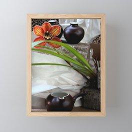 Salt And Pepper With Cream Framed Mini Art Print