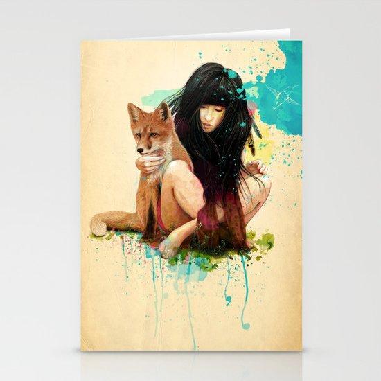 Fox Love Stationery Cards