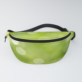 green bokeh Fanny Pack