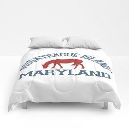 Assateague Island - Maryland. Comforters