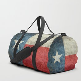 State flag of Texas, Lone Star Flag of the Lone Star State Duffle Bag