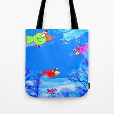 Happy Bird Day! Tote Bag
