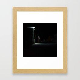 Melrose By Night Framed Art Print