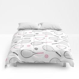 Tennis Love Pattern Comforters