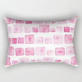 Pink and square Rectangular Pillow