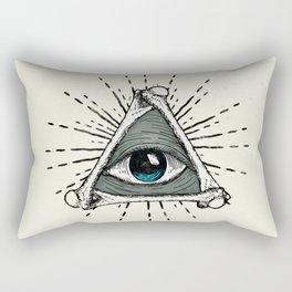 All Seeing Eye Rectangular Pillow