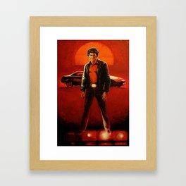 Knight Rider Framed Art Print