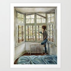 Front Window Art Print