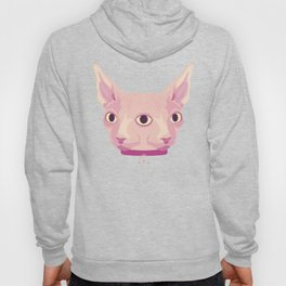 Two-Faced Sphynx From Outer Space Hoody
