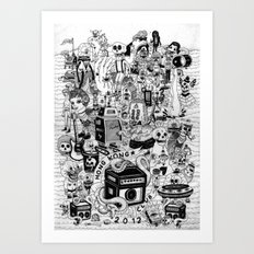 HONG KONG CLUB Art Print