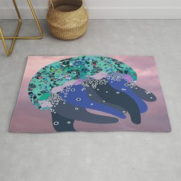 Solly the Sea Creature in the Sky Rug