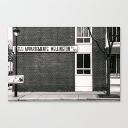Apartments Wellington Montreal Canvas Print