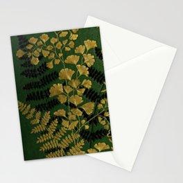 Antique Ferns Stationery Cards