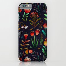 Bright flowers Slim Case iPhone 6s