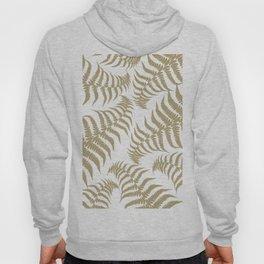 Fern Leaves Pattern - Golden Dream #2 #ornamental #decor #art #society6 Hoody