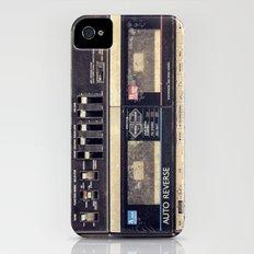 Dual Cassette iPhone (4, 4s) Slim Case