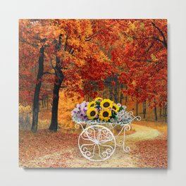 From Autumn to Spring Metal Print
