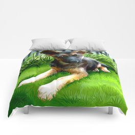 Lua the cutest GS Pup Comforters