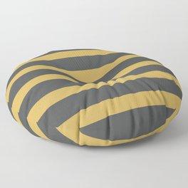 Yellow Gold Matte Floor Pillow