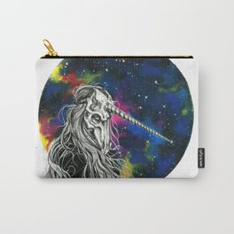 Unicorn girl Galaxy version Carry-All Pouch