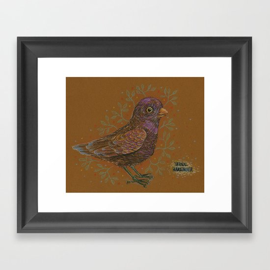Vernal Harbinger Framed Art Print