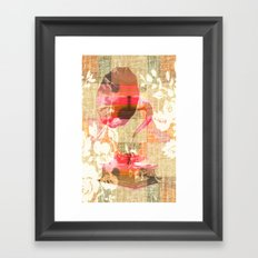 Dueling Phonographs III Framed Art Print