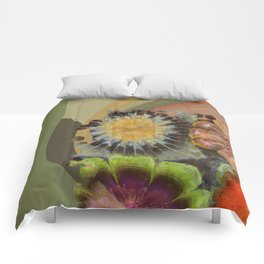 Uniteable Formation Flower  ID:16165-084538-89880 Comforters