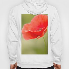 Miss you so much Red Poppy #decor #society6 Hoody