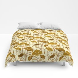 Sunfield Poppies Comforters