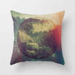 Fractions C02 Throw Pillow