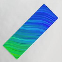 stripes wave pattern 1 stdv Yoga Mat