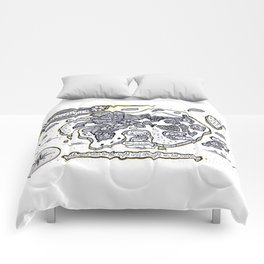 Neverland Illustration  Comforters
