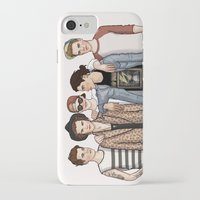one direction iPhone & iPod Cases featuring One Direction by vulcains