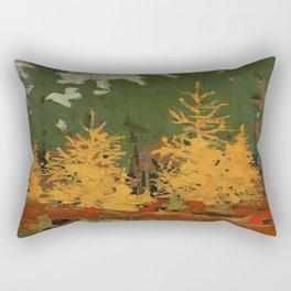 Tom Thomson Tamarack 1915 Canadian Landscape Artist Rectangular Pillow
