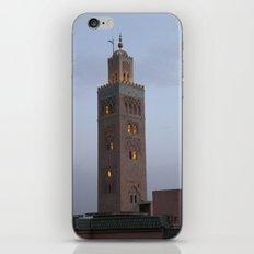 Marrakech, Morocco. Glowing Mosque iPhone & iPod Skin