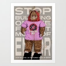 Stop The H8 Art Print