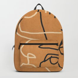 Abstract Face 6 Backpack