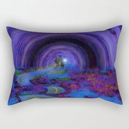 Into The Future Rectangular Pillow