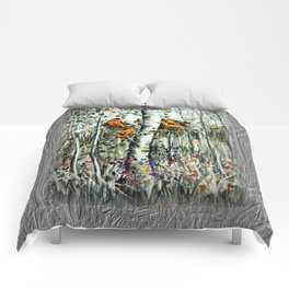 Gold Finches Comforters