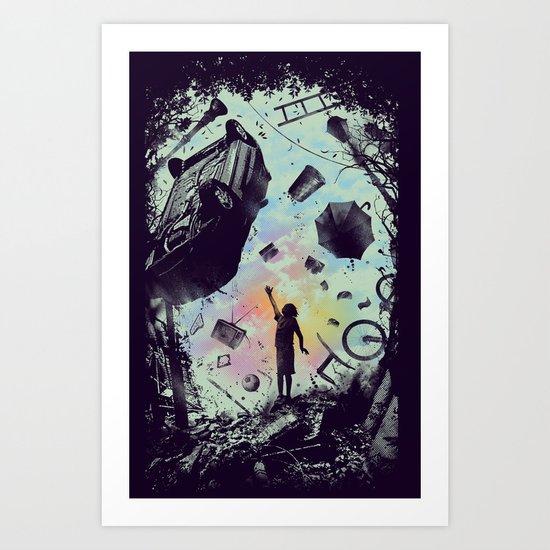 Gravity Play Art Print