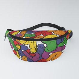 Schlong Song in Rainbow, All the Penis! Fanny Pack