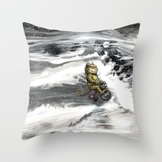 Beasts of Montreal Throw Pillow